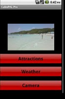 Screenshot of Cabo San Lucas Travel Guide