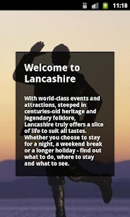 Lancashire Official Guide - screenshot thumbnail