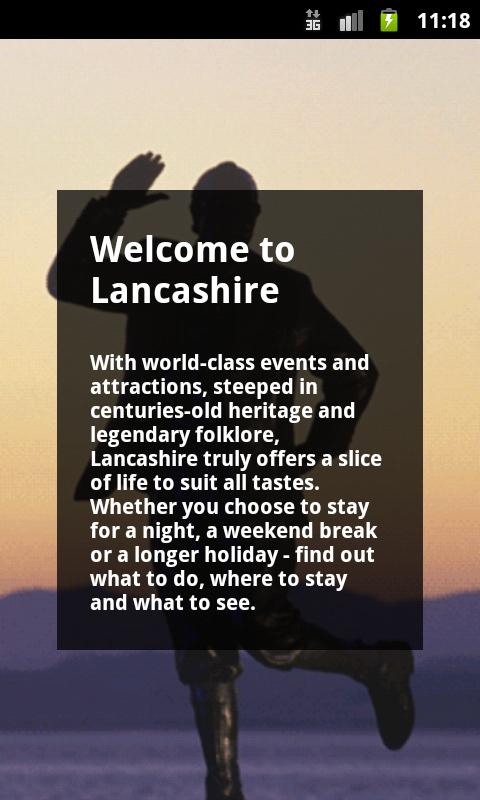 Lancashire Official Guide - screenshot