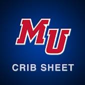 Malone University Crib Sheet