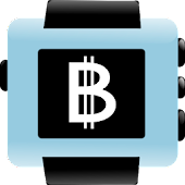 Bitcoins for Pebble Smartwatch