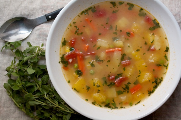 Really Good Vegetable Soup Recipe