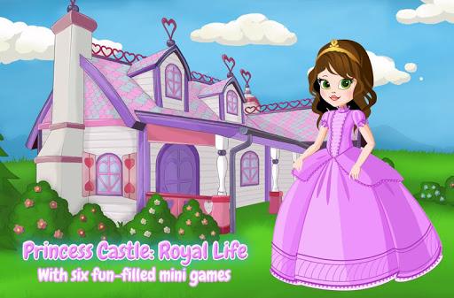 帮助了她周围的魔法的城堡公主居住的皇室生活!