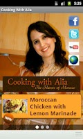 Screenshot of Cooking With Alia