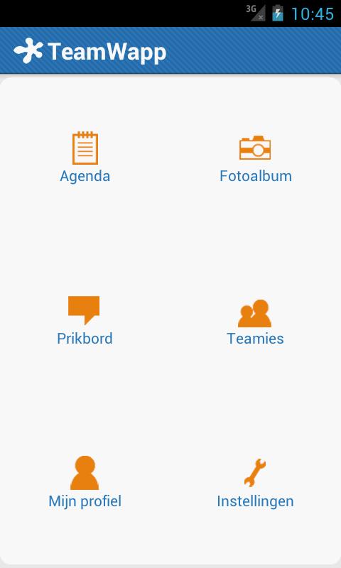 TeamWapp- screenshot