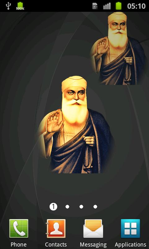 Guru Nanak Ji Live Wallpaper - screenshot