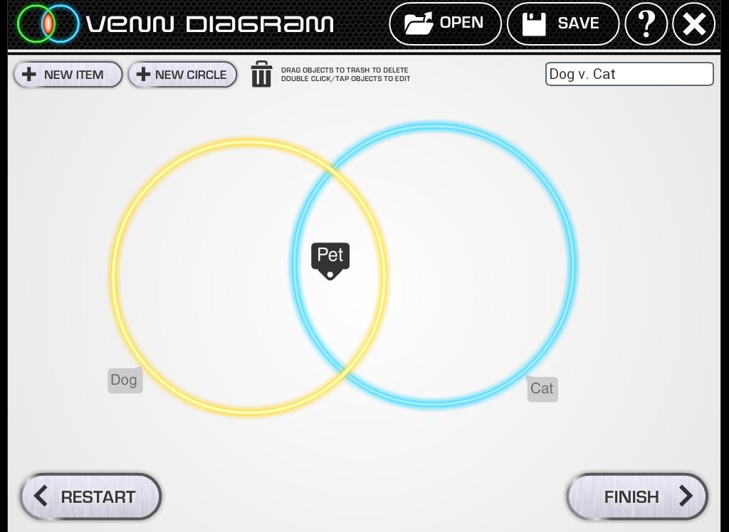 Venn Diagram- screenshot