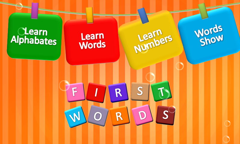 First Words Kids Learning - screenshot