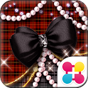 Plaid and Pearls icon