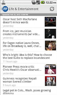 St. Paul Pioneer Press - screenshot thumbnail