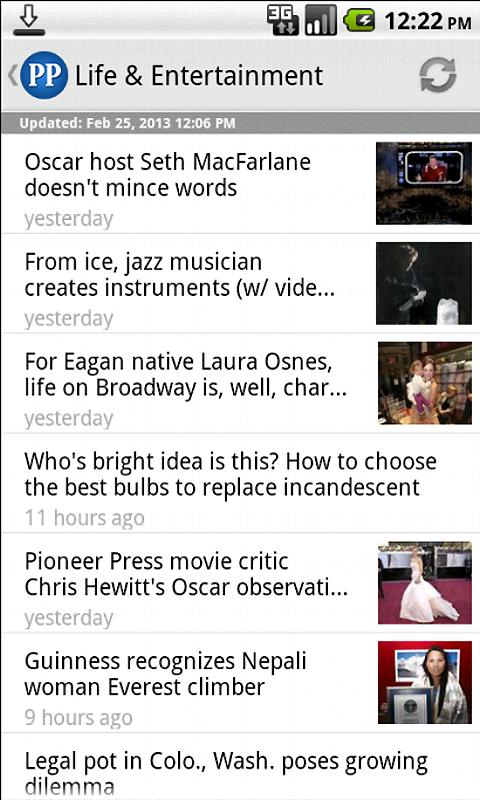 St. Paul Pioneer Press - screenshot
