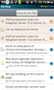 MangoTasks- screenshot thumbnail