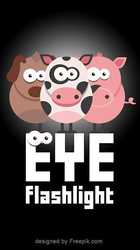 Eye flashlight