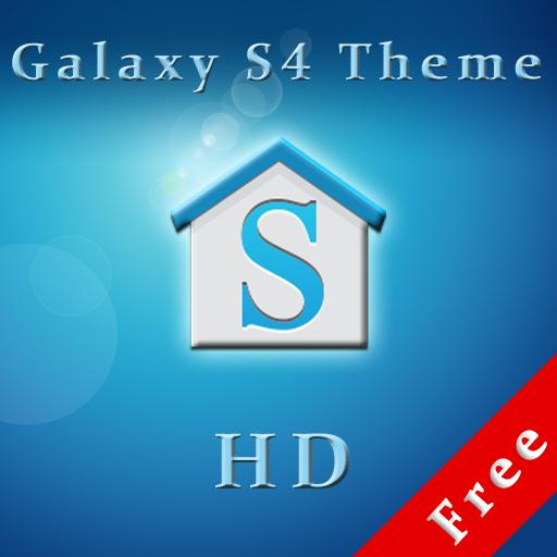 Galaxy S4 Theme HD Free LOGO-APP點子