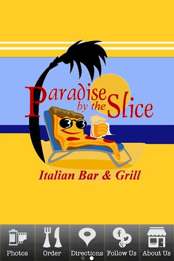 Paradise Slice Online Ordering