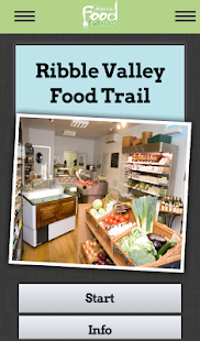 Ribble Valley Food Trails- screenshot thumbnail