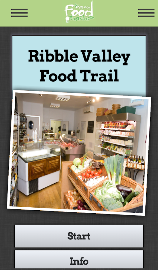 Ribble Valley Food Trails- screenshot