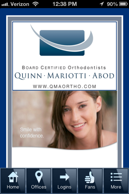 QuinnMariottiAbod Orthodontics - screenshot