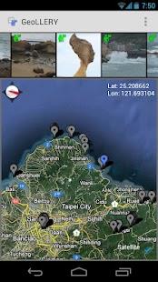 geoLLERY: view/edit GPS tags- screenshot thumbnail