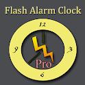 Flash Alarm Clock Pro icon