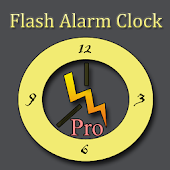Flash Alarm Clock Pro