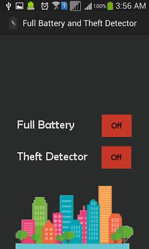 Full Battery Theft Detector