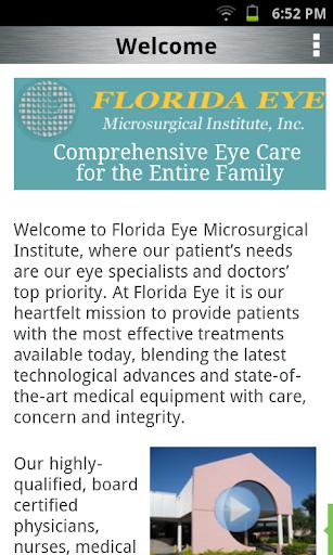 【免費醫療App】Florida Eye-APP點子