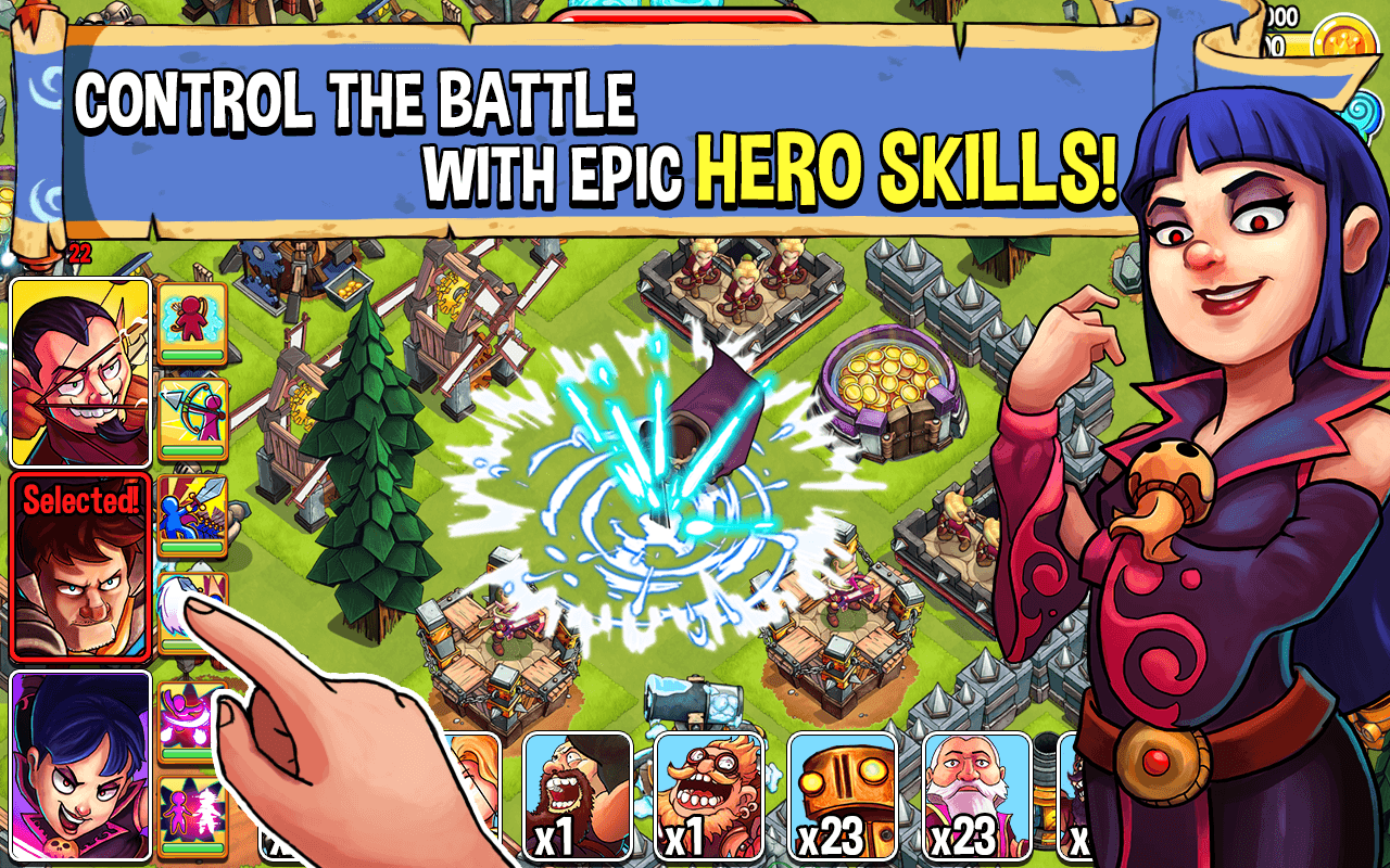 Battle Heroes:Clash of Empires - screenshot