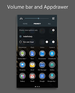 DarkMTRL Thyrus CM12 Theme v3.9
