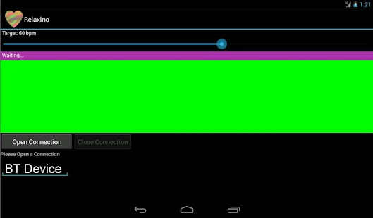 Relaxino for Arduino-Android- screenshot thumbnail