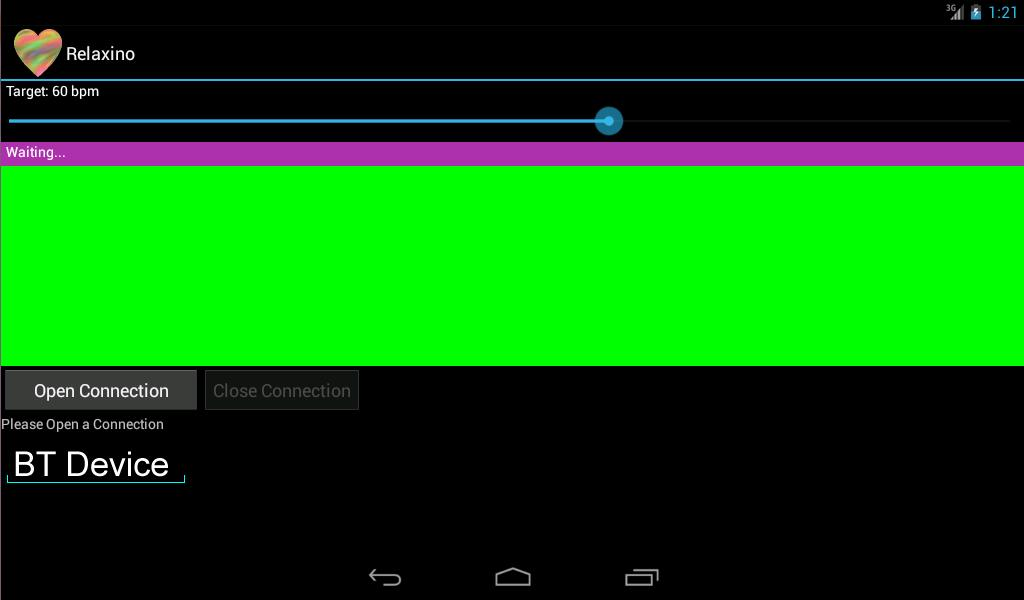 Relaxino for Arduino-Android- screenshot