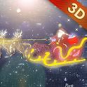 HD Christmas 3D Live Wallpaper icon