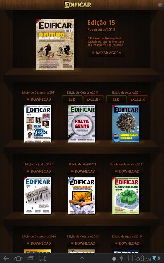 Revista Edificar- screenshot