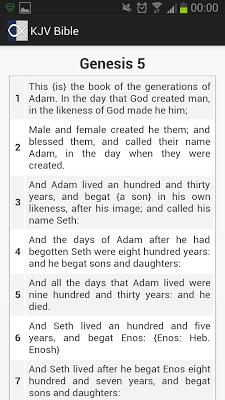 Holy Bible (KJV) - screenshot