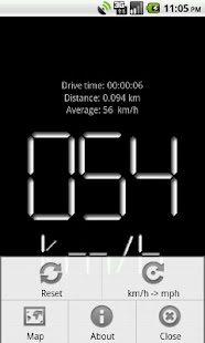 Digital Speedometer Free - screenshot thumbnail