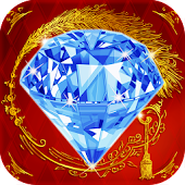 Download Frozen Jewels Dash Hexagon APK