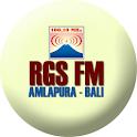 RGS 100.10 FM – Bali logo