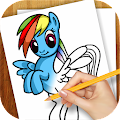 Learn to Draw Little Pony APK for Bluestacks
