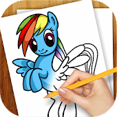Download Learn to Draw Little Pony lite Easy Monster & Pony Draw APK