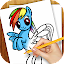 Learn to Draw Little Pony for Lollipop - Android 5.0