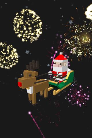 CUBE Santa 3D LWP
