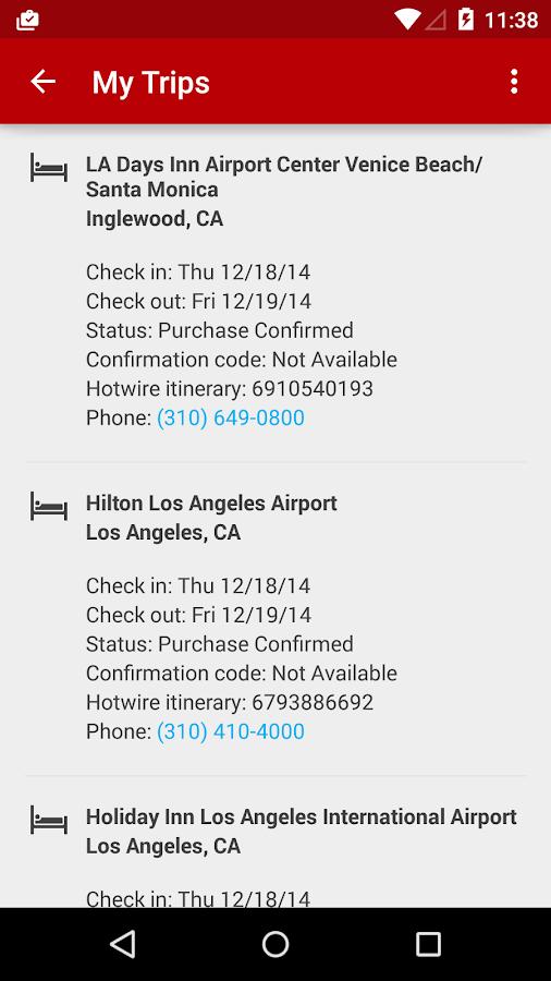 Hotwire Hotels & Car Rentals - screenshot