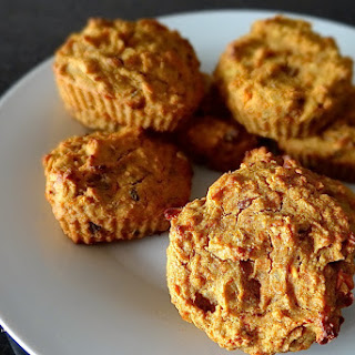 Sweet Carrot-Cake Muffins.