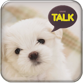 Puppy kakao talk theme