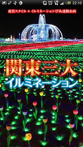 関東三大イルミネーション【ライブ壁紙】