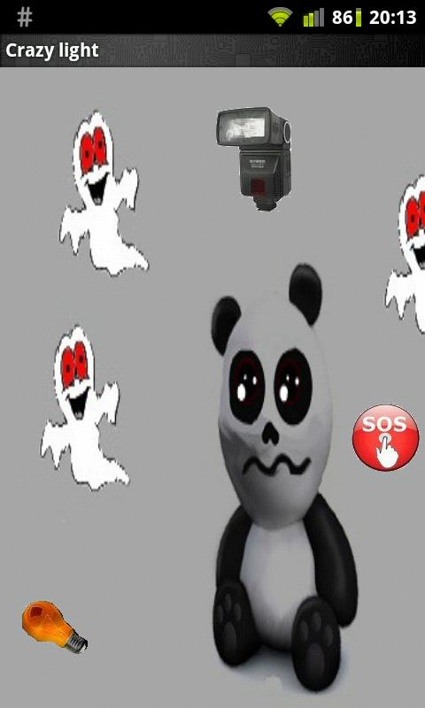 What Funny Panda Flashlight- screenshot