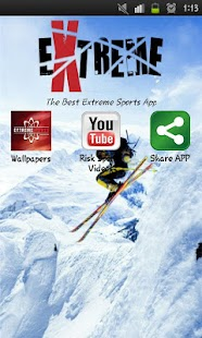 Extreme Sports fan app - screenshot thumbnail