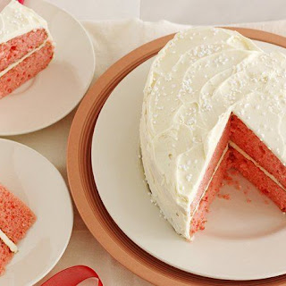 Strawberry White Chocolate Champagne Cake Recipe