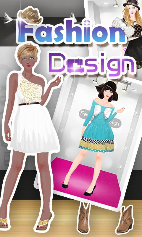 Fashion Design - girls games - screenshot