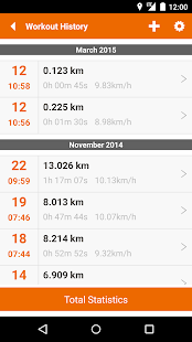 u4fit - GPS Track Run Walk - screenshot thumbnail